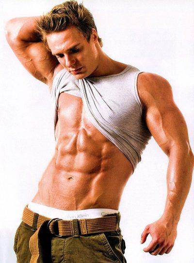 мускулистая фигура